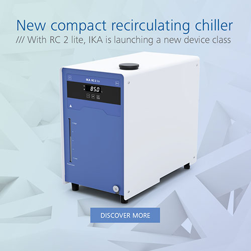 New and compact recirculating chiller - the IKA RC 2 lite