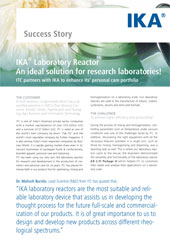 Tumbnail PDF IKA Laboratory Reactor