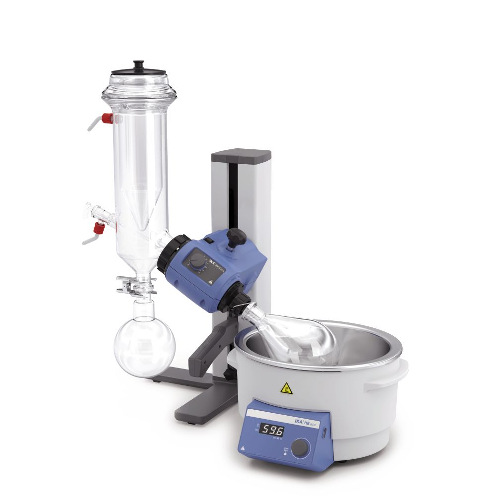 IKA Rotavapores RV 3 with Dry Ice Condenser