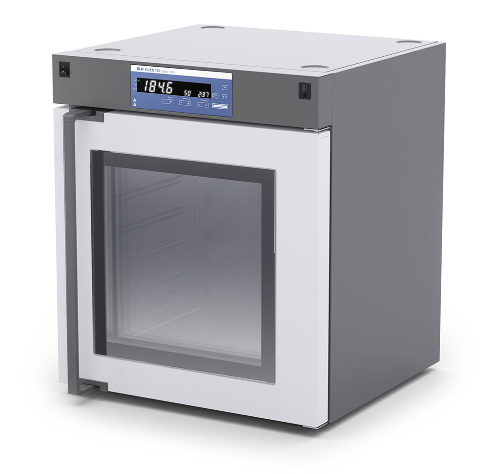 IKA Oven 125 basic dry - glass