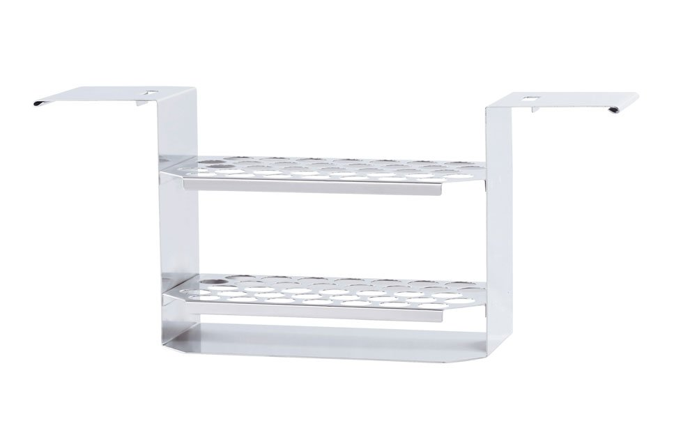 IKA Temperature Control Tube rack, 17mm, S, stainless