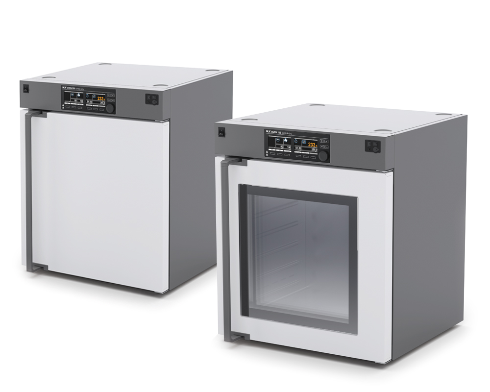 The new IKA drying oven are powerful drying cabinets for temperature regulation, drying, ageing and heating tasks.
