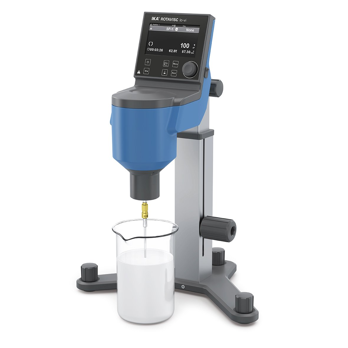The viscometer of the new IKA ROTAVISC series