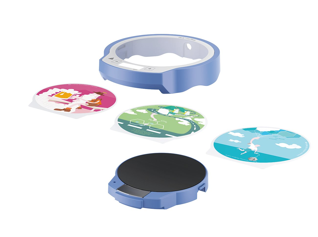 IKA myPlate magnetic stirrer in different designs